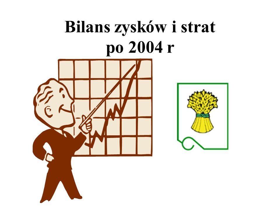 Bilans zysków i strat po 2004 r