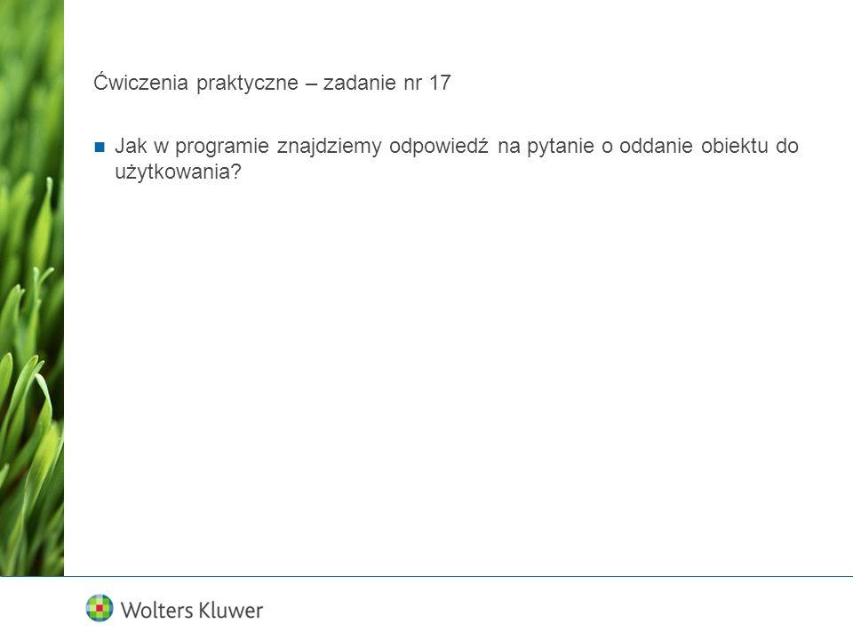 Ćwiczenia praktyczne MPZP – zadanie nr 3 Ten sam MPZP w Legnicy, przy ul.