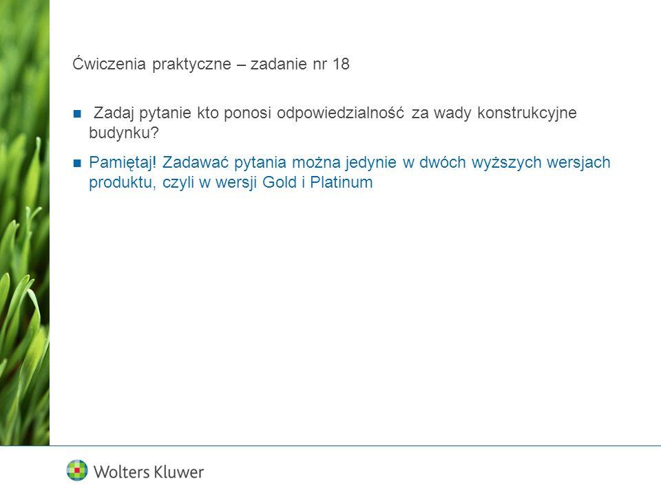 Ćwiczenia praktyczne MPZP – zadanie nr 4 Wyszukany akt dla Legnicy, przy ul.