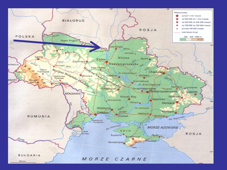 ROZKŁAD STĘŻEŃ radioaktywnego cezu-134 i cezu-137 ponad Polską (w mBq/m3) tuż przy powierzchni ziemi oraz na sześciu wysokościach w troposferze i dolnej stratosferze.