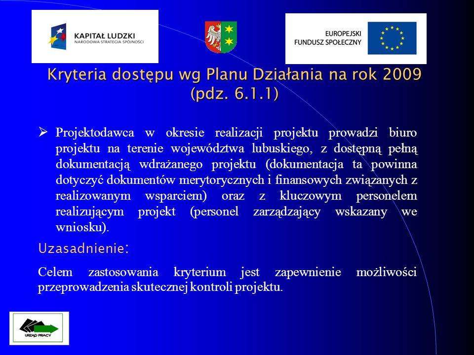 Projektodawca w ramach jednej rundy konkursu złożył nie więcej niż jeden wniosek (kryterium nie stosuje się do jednostek samorządu terytorialnego).
