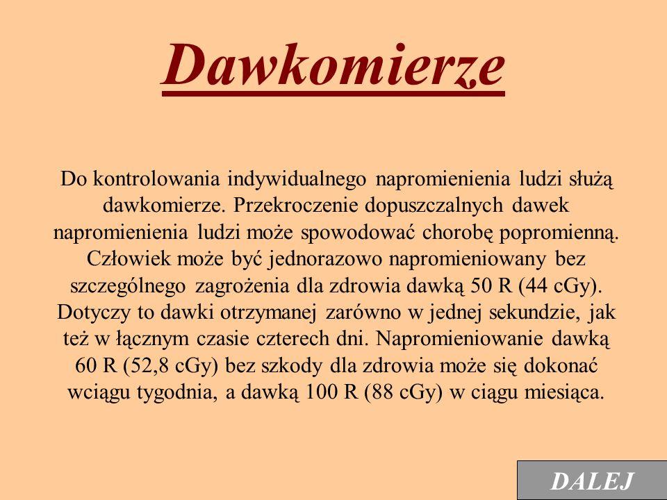 Rentgenoradiometr DP-75 Przyrząd jest przeznaczony do pomiaru mocy dawki promieniowania gamma od 0,5 mR do 500 R/h. Ma 5 podzakresów z progami dźwięko