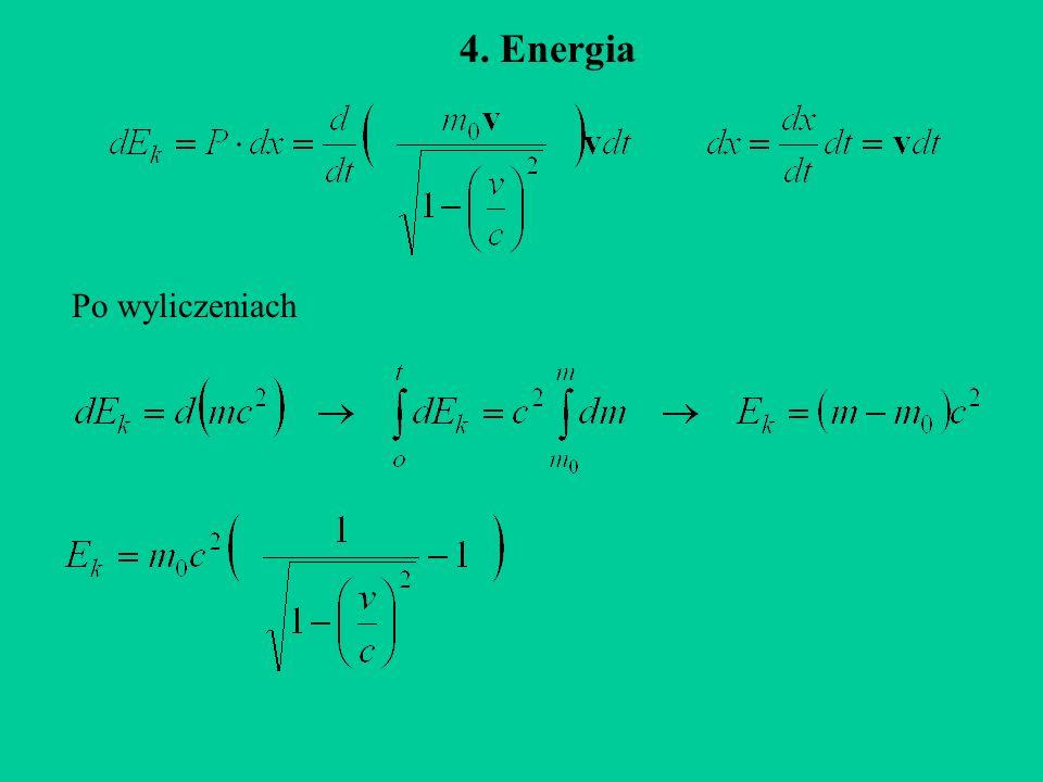 4. Energia Po wyliczeniach