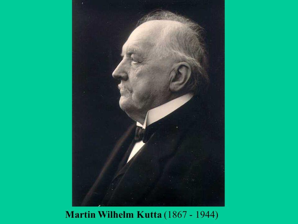 Martin Wilhelm Kutta (1867 - 1944)