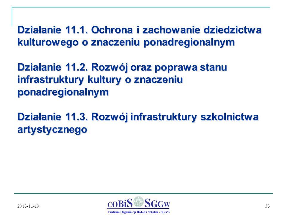 2013-11-10 33 Działanie 11.1.