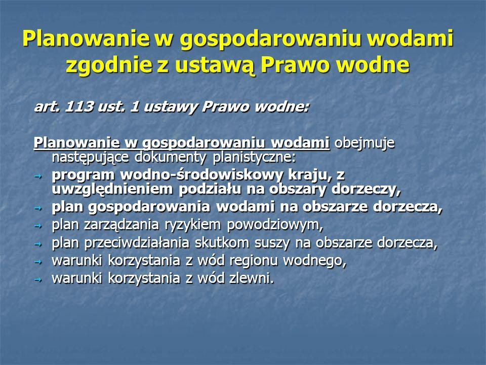 Plan gospodarowania wodami na obszarze dorzecza Wisły Zatwierdzenie: Prezes Rady Ministrów 22 lutego 2011r.