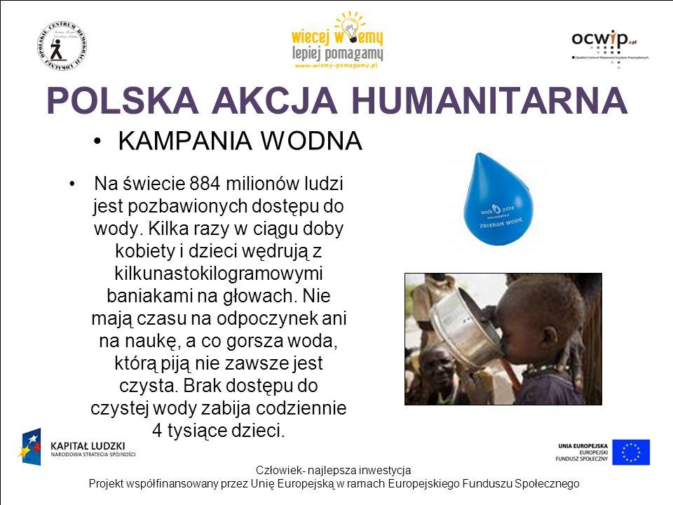Człowiek- najlepsza inwestycja Projekt współfinansowany przez Unię Europejską w ramach Europejskiego Funduszu Społecznego AKCJA PAJACYK