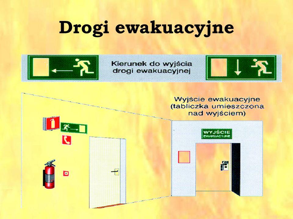 Drogi ewakuacyjne