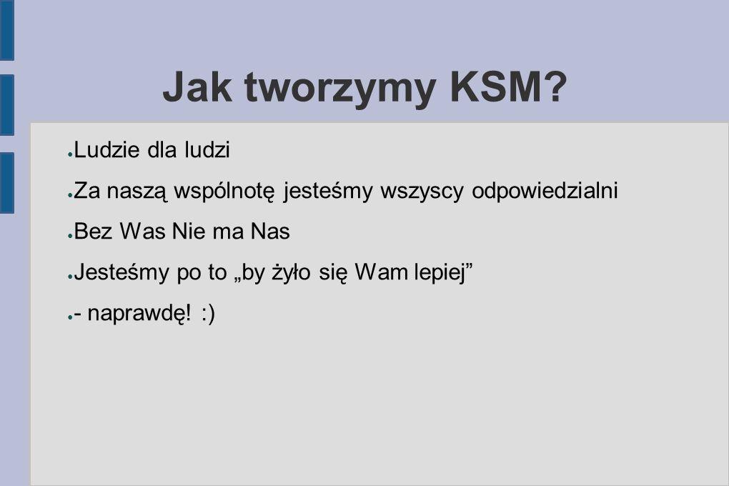 Jak tworzymy KSM.