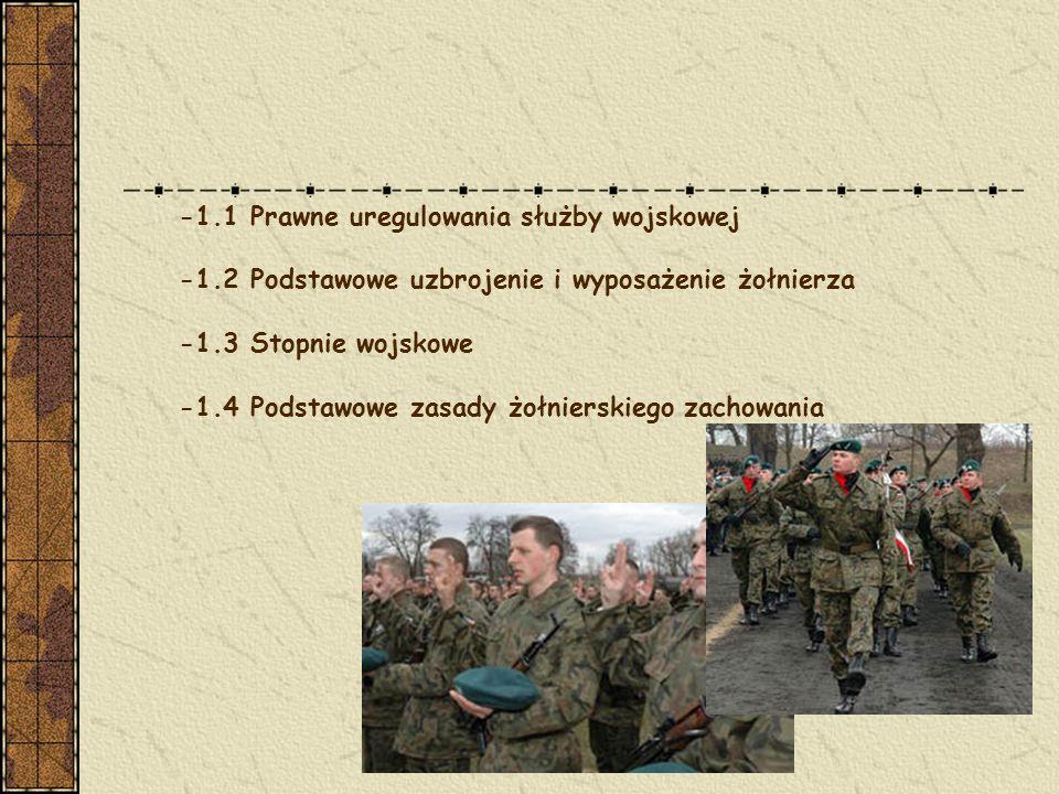 -Obrona ojczyzny jest sprawą i obowiązkiem wszystkich obywateli Rzeczypospolitej Polskiej.