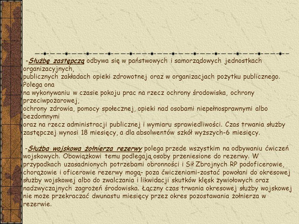 Podstawowe uzbrojenie i wyposażenie żołnierza Uzbrojenie wojska polskiego jest w zdecydowanej większości pochodzenia radzieckiego.