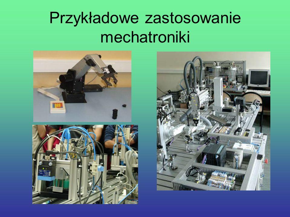 Umiejętności zdobywane w pracowni mechatronicznej umiejętności eksploatacji, konserwacji, montażu i konfiguracji elementów automatyki,umiejętności eksploatacji, konserwacji, montażu i konfiguracji elementów automatyki, umiejętności eksploatacji, konserwacji, montażu układów pneumatycznych, elektropneumatycznych i hydraulicznych,umiejętności eksploatacji, konserwacji, montażu układów pneumatycznych, elektropneumatycznych i hydraulicznych, wykonywania pomiarów wielkości elektrycznych i nieelektrycznych,wykonywania pomiarów wielkości elektrycznych i nieelektrycznych, zbierania i przetwarzania danych,zbierania i przetwarzania danych, uruchamiania sterowników mikroprocesorowych i ich programowania.uruchamiania sterowników mikroprocesorowych i ich programowania.