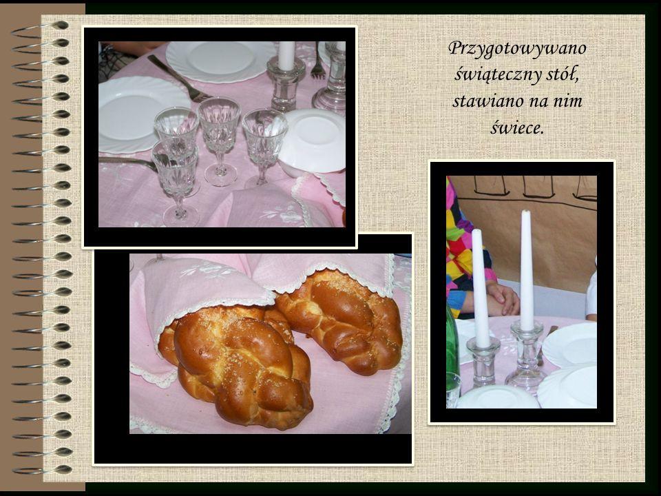 Wreszcie rozpoczynała się kolacja, podczas której jedzono wcześniej przygotowane potrawy, śpiewno i rozmawiano.