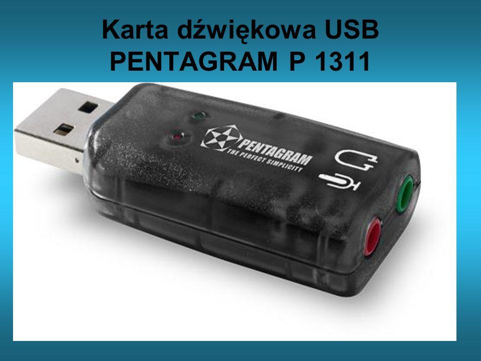 Karta dźwiękowa USB PENTAGRAM P 1311