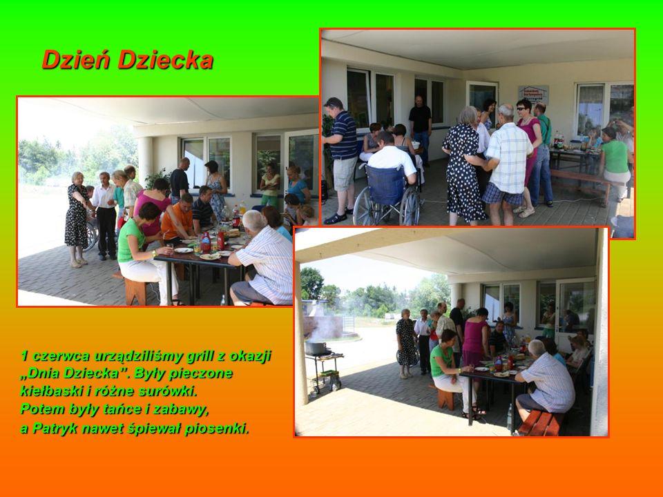 Dzień Dziecka 1 czerwca urządziliśmy grill z okazji Dnia Dziecka.