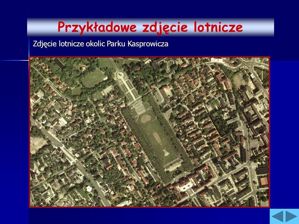 Zdjęcie lotnicze okolic Parku Kasprowicza Przykładowe zdjęcie lotnicze