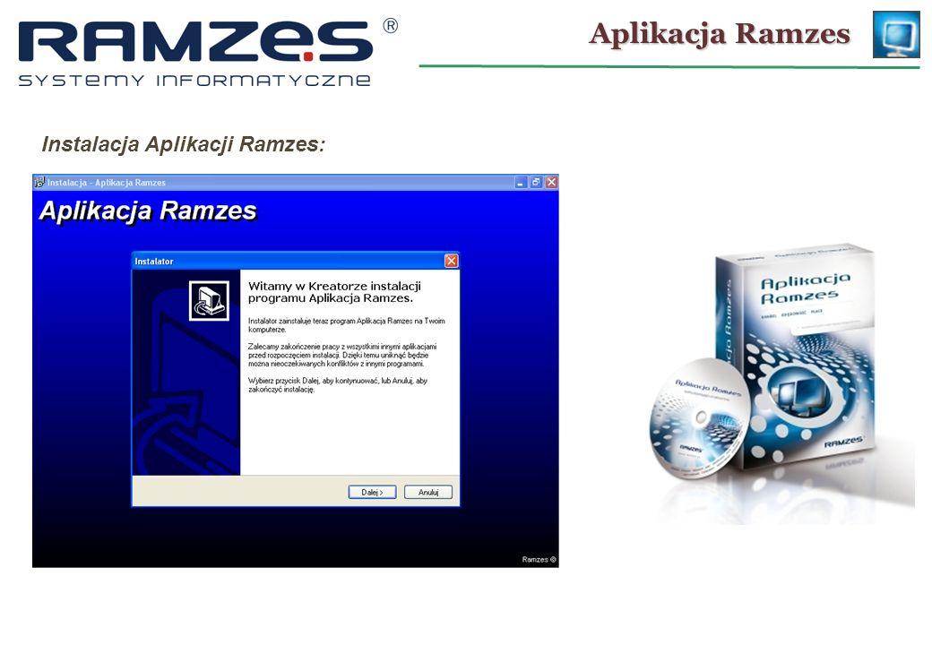 Instalacja Aplikacji Ramzes:
