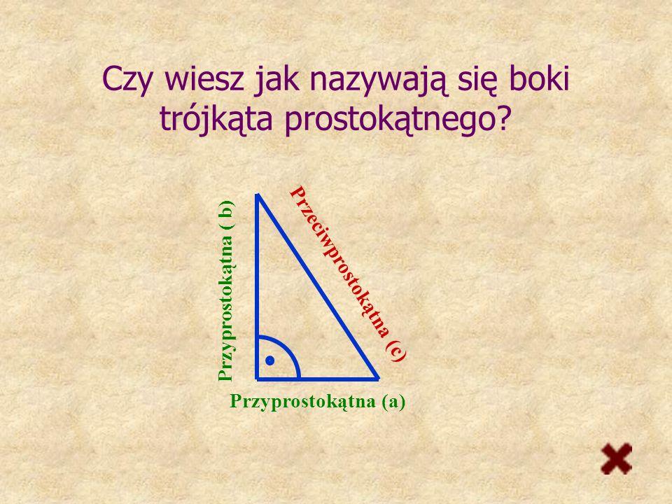 Nazwij trójkąty prostokątny ostrokątny rozwartokątny