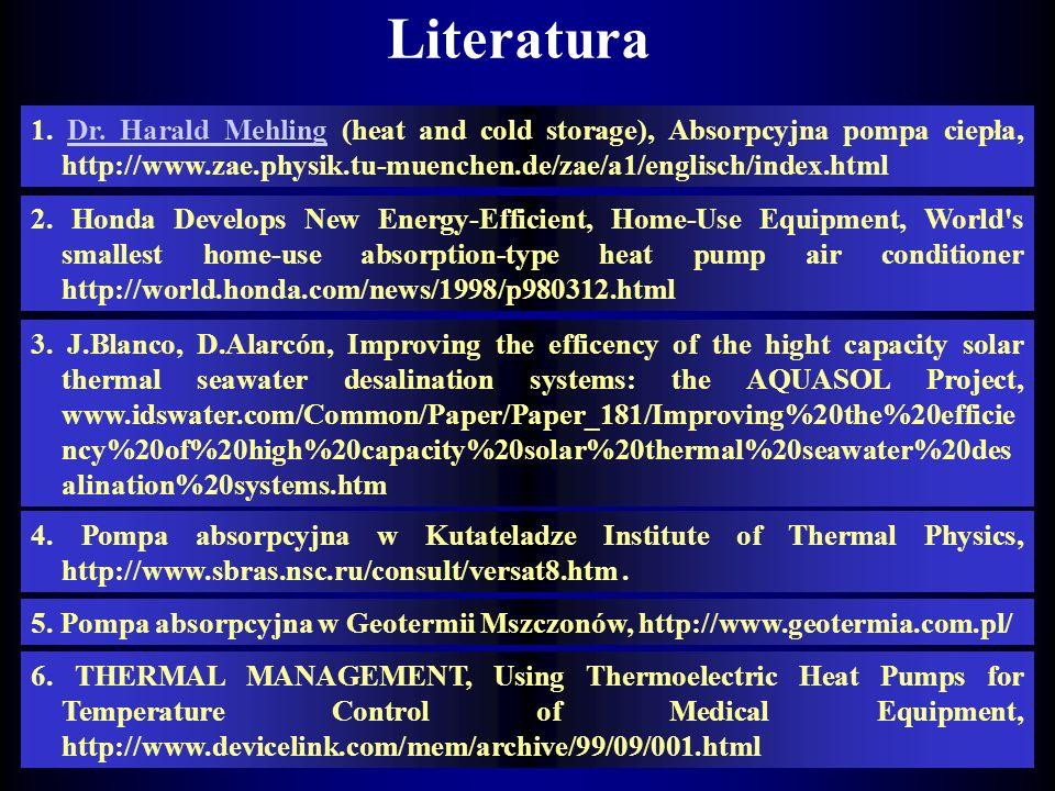 Aplikacje termoakustycznej pompy ciepła Termoakustyczna lodziarka do produkcji lodów Termoakustyczna lodówka (TAR), p=7at, T=15 K, 180 dB.