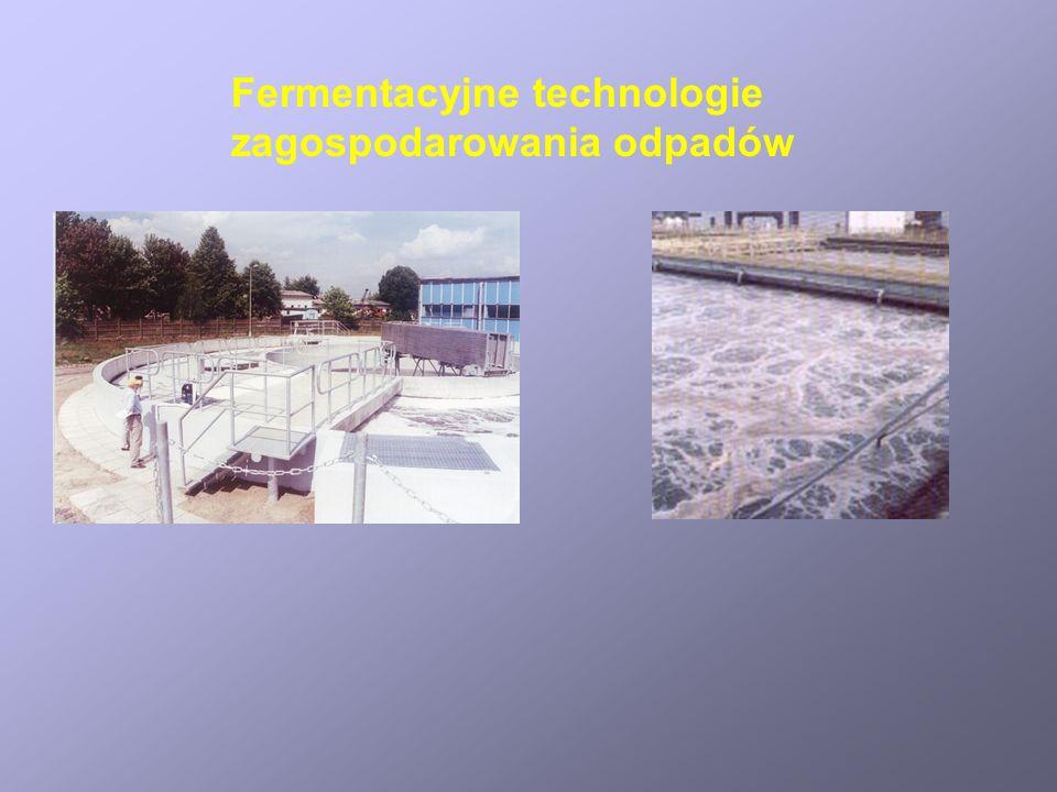 Fermentacyjne technologie zagospodarowania odpadów