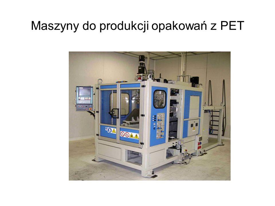 Maszyny do produkcji opakowań z PET
