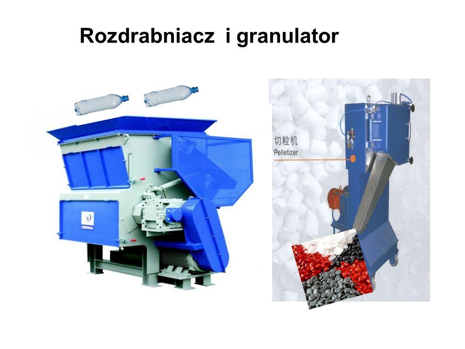 Rozdrabniacz i granulator