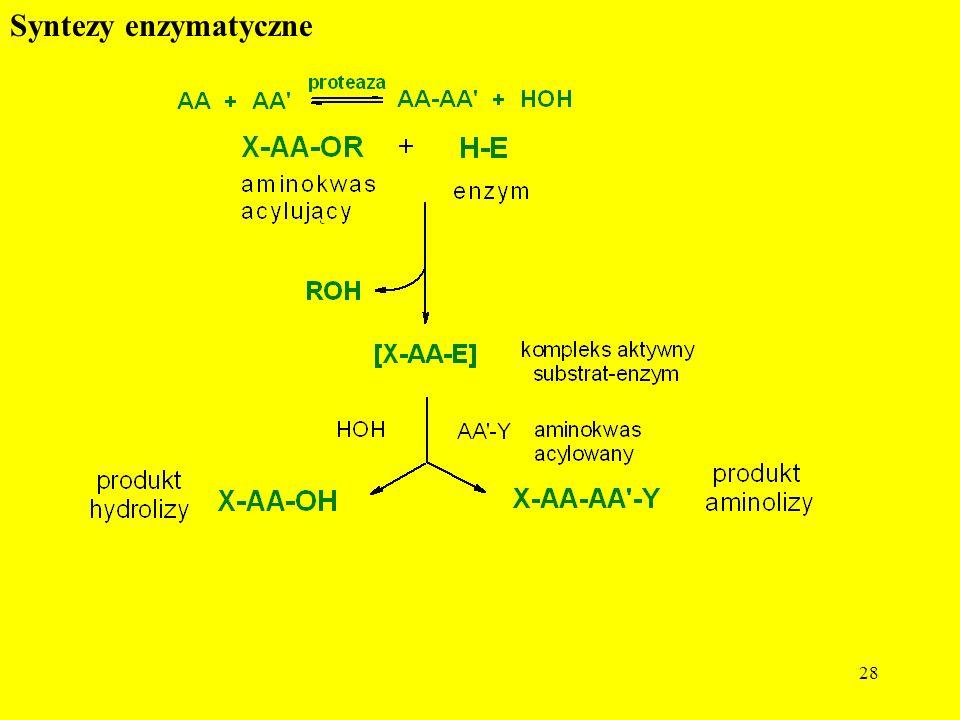 28 Syntezy enzymatyczne