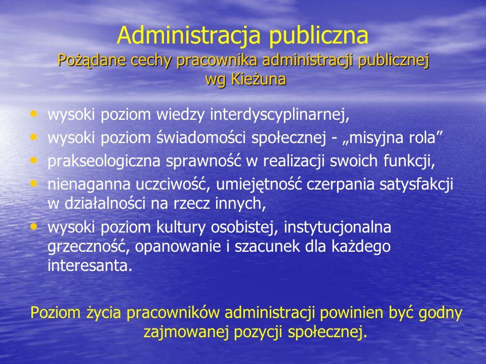 Czego biznes może się nauczyć od organizacji publicznych (1) Czego biznes może się nauczyć od organizacji publicznych (1) cechy zarządzania w organizacjach publicznych Dawniej synonim nieprzyzwoitości realizacja szczytnych celów jest wolna od brudów komercjalizmu i przyziemnych, plugawych spraw Dzisiaj brak dyscypliny wymusza potrzebę profesjonalnego zarządzania intencje nie zastąpią przywództwa, skuteczności, dążenia do realizacji celów