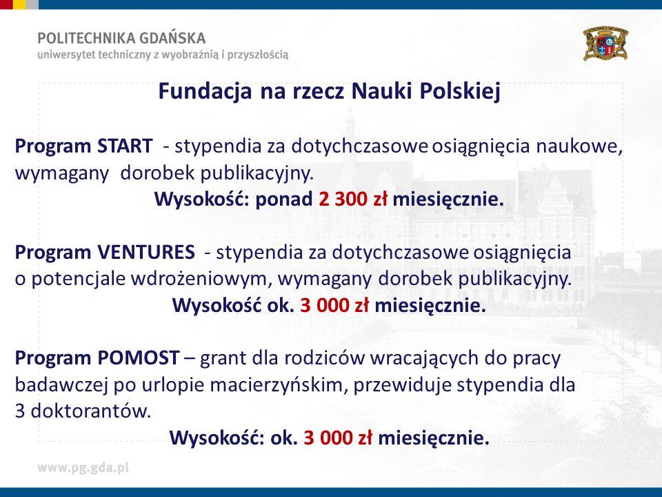 Stypendia podmiotów zewnętrznych wspomagających prace wdrożeniowe Stypendium InnoDoktorant - wypłacane z Projektu POKL prowadzonego przez Departament Rozwoju Gospodarczego, Urząd Marszałkowski Woj.