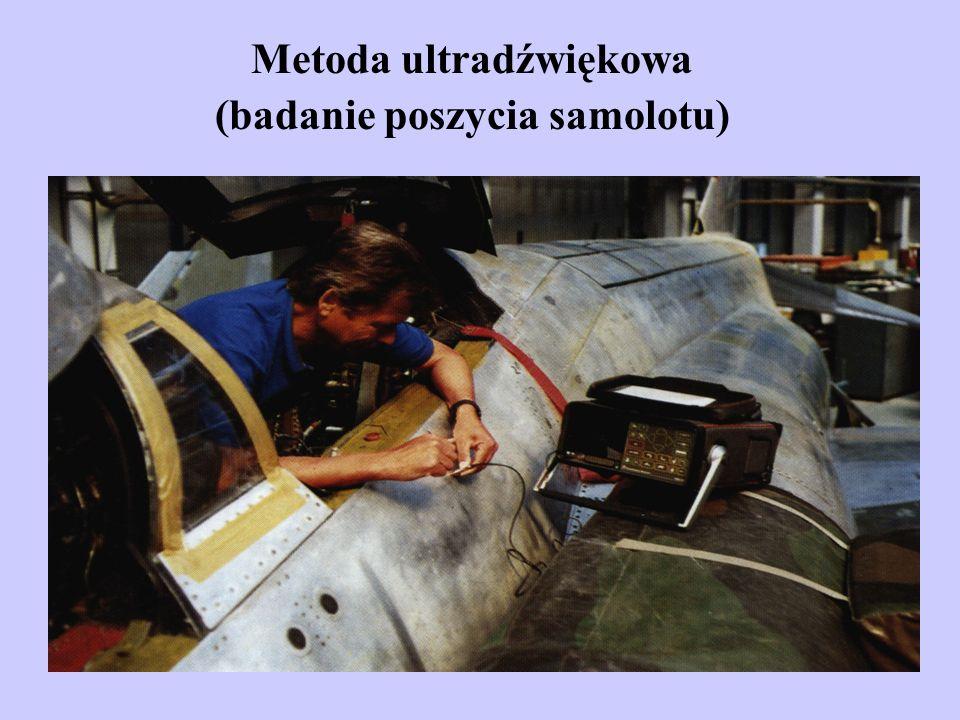 Metoda ultradźwiękowa (badanie poszycia samolotu)