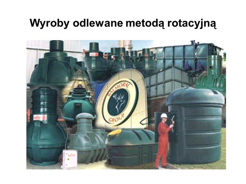 Wyroby odlewane metodą rotacyjną