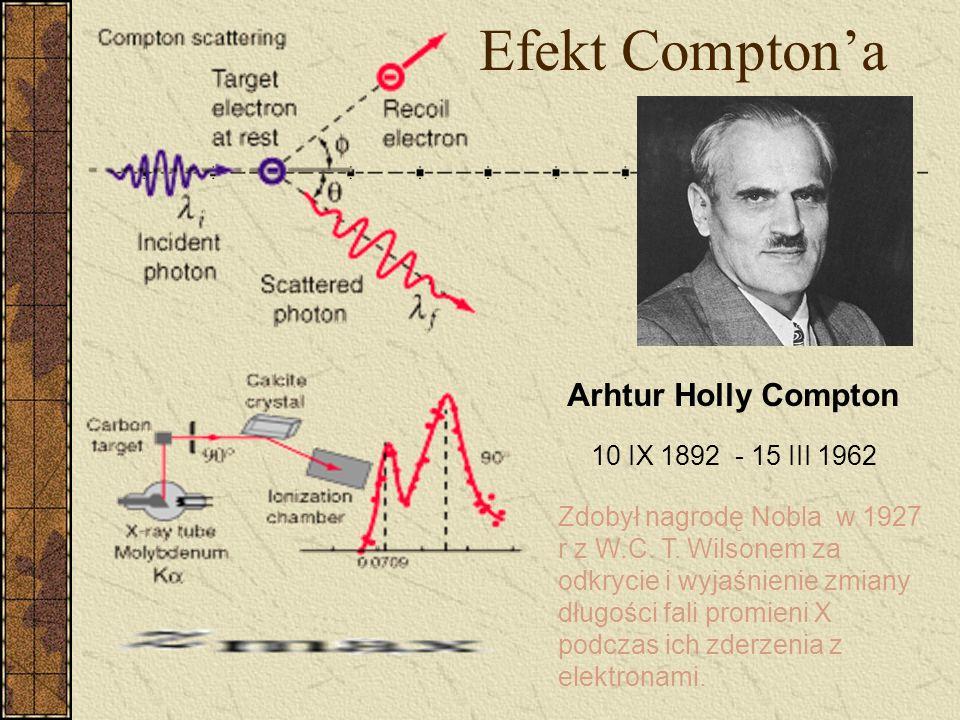 Zjawisko fotoelektryczne (jonizacja) 1 p 3 Krawędź K http://zoot.radiology.wisc.edu/~block/bme530lectures/L01xray.ppt ln /p