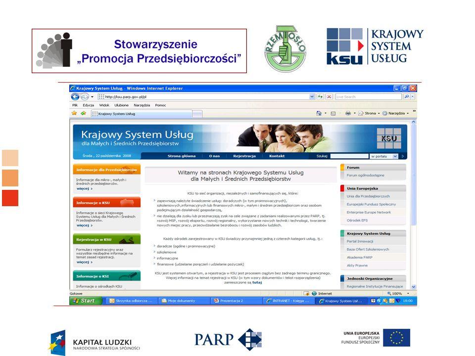 Logo ośrodka KSU www.ksu.parp.gov.pl