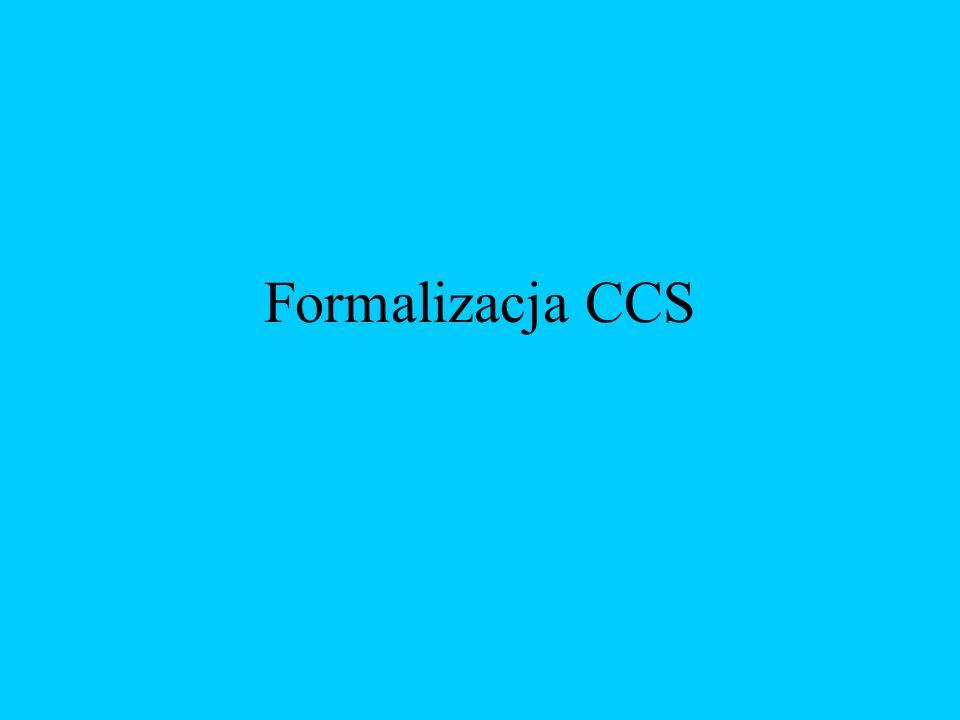 Formalizacja CCS