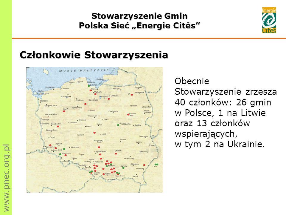 www.pnec.org.pl...Dzięki szkoleniom organizowanym przez Stowarzyszenie Gmin Polska Sieć Energie Cites wzrosło zainteresowanie gminy Nowa Dęba problemami związanymi z możliwościami zastosowania energii odnawialnych w funkcjonowaniu miasta.