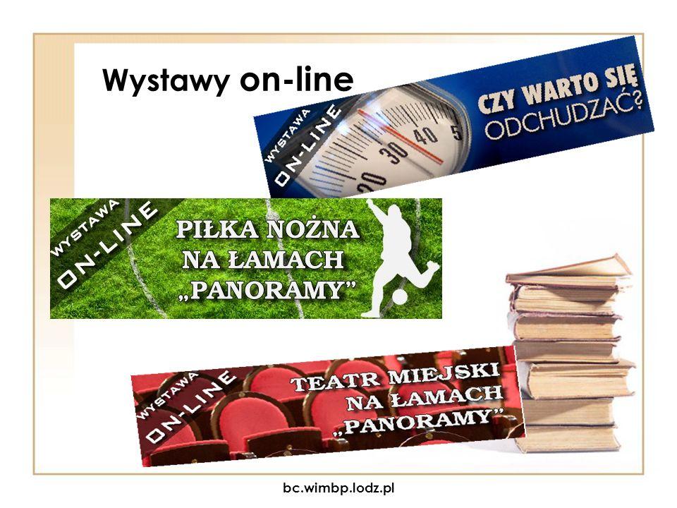 Wystawy on-line bc.wimbp.lodz.pl
