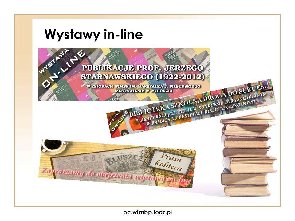Wystawy in-line bc.wimbp.lodz.pl