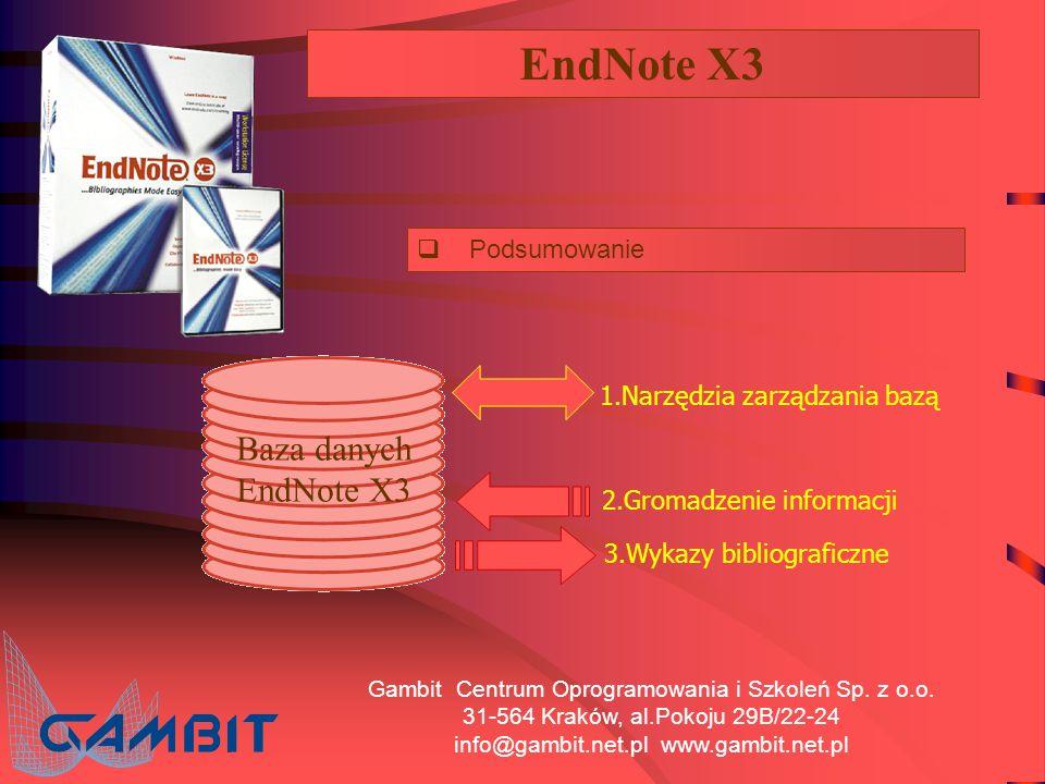 Gambit Centrum Oprogramowania i Szkoleń Sp. z o.o.