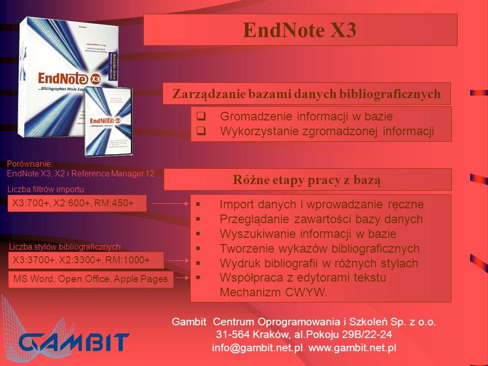 Gambit Centrum Oprogramowania i Szkoleń Sp.z o.o.