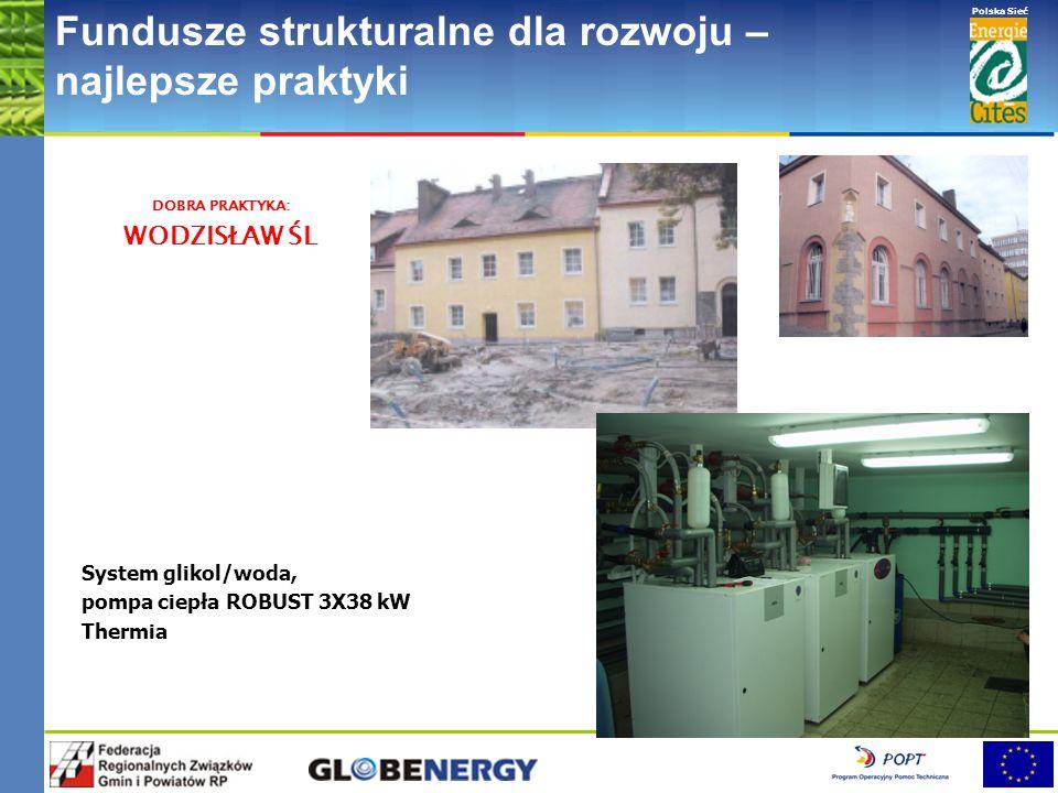 www.pnec.org.pl Polska Sieć www.dobrepraktyki.org.pl Fundusze strukturalne dla rozwoju – najlepsze praktyki Pompy ciepła w kotłowni dla grupy budynków