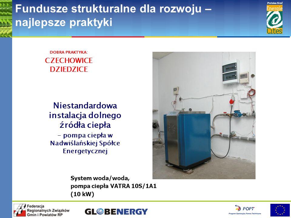 www.pnec.org.pl Polska Sieć www.dobrepraktyki.org.pl Fundusze strukturalne dla rozwoju – najlepsze praktyki DOBRA PRAKTYKA: ŻYWIEC System glikol/woda,