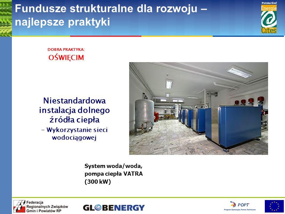 www.pnec.org.pl Polska Sieć www.dobrepraktyki.org.pl Fundusze strukturalne dla rozwoju – najlepsze praktyki Wykorzystanie zładu instalacji c.o. jako d