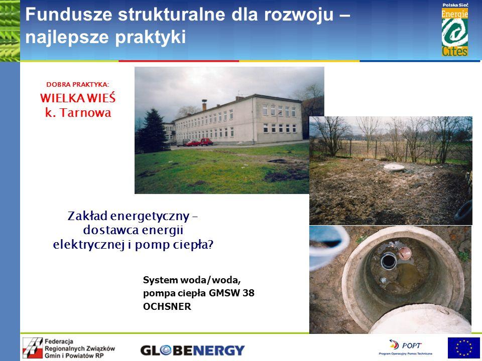 www.pnec.org.pl Polska Sieć www.dobrepraktyki.org.pl Fundusze strukturalne dla rozwoju – najlepsze praktyki System woda/woda, pompa ciepła VATRA (300