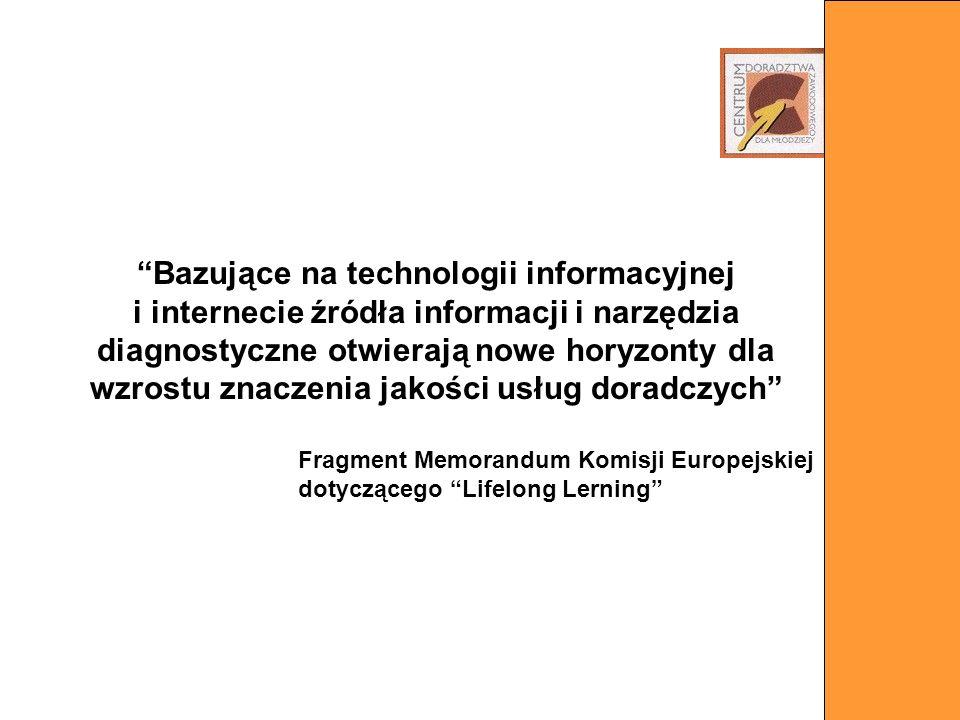 Bazujące na technologii informacyjnej i internecie źródła informacji i narzędzia diagnostyczne otwierają nowe horyzonty dla wzrostu znaczenia jakości