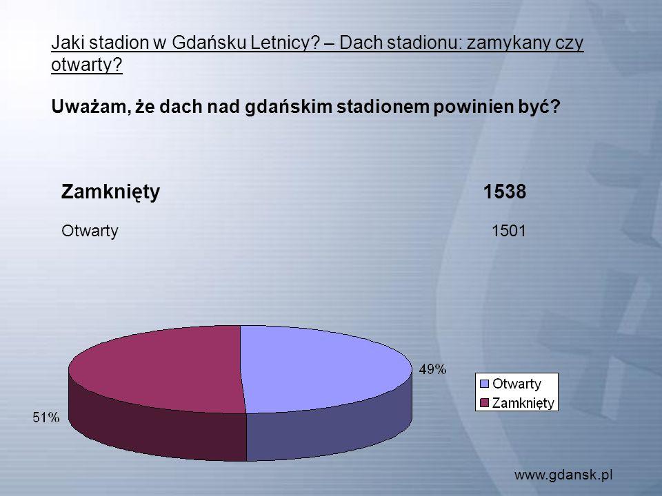www.gdansk.pl Jaki stadion w Gdańsku Letnicy. – Dach stadionu: zamykany czy otwarty.