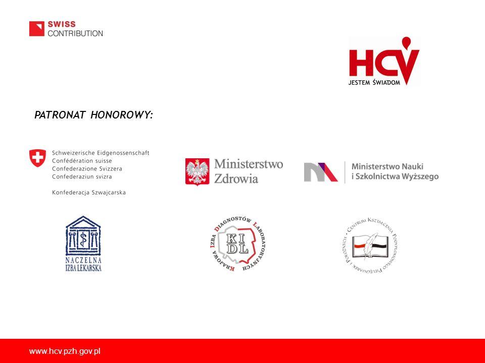 www.hcv.pzh.gov.pl PATRONAT HONOROWY: