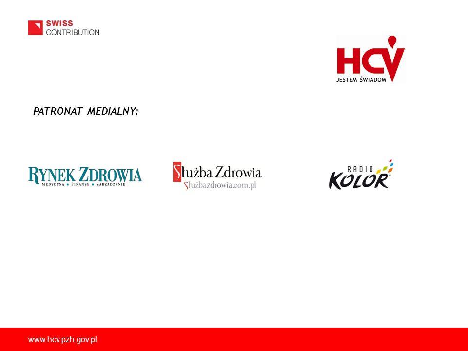 www.hcv.pzh.gov.pl PATRONAT MEDIALNY: