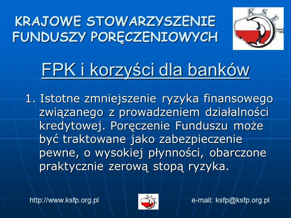 FPK i korzyści dla banków 1.