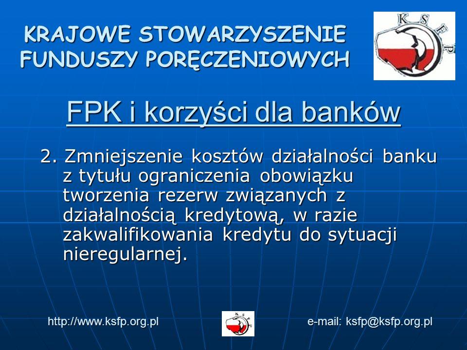 FPK i korzyści dla banków 2.
