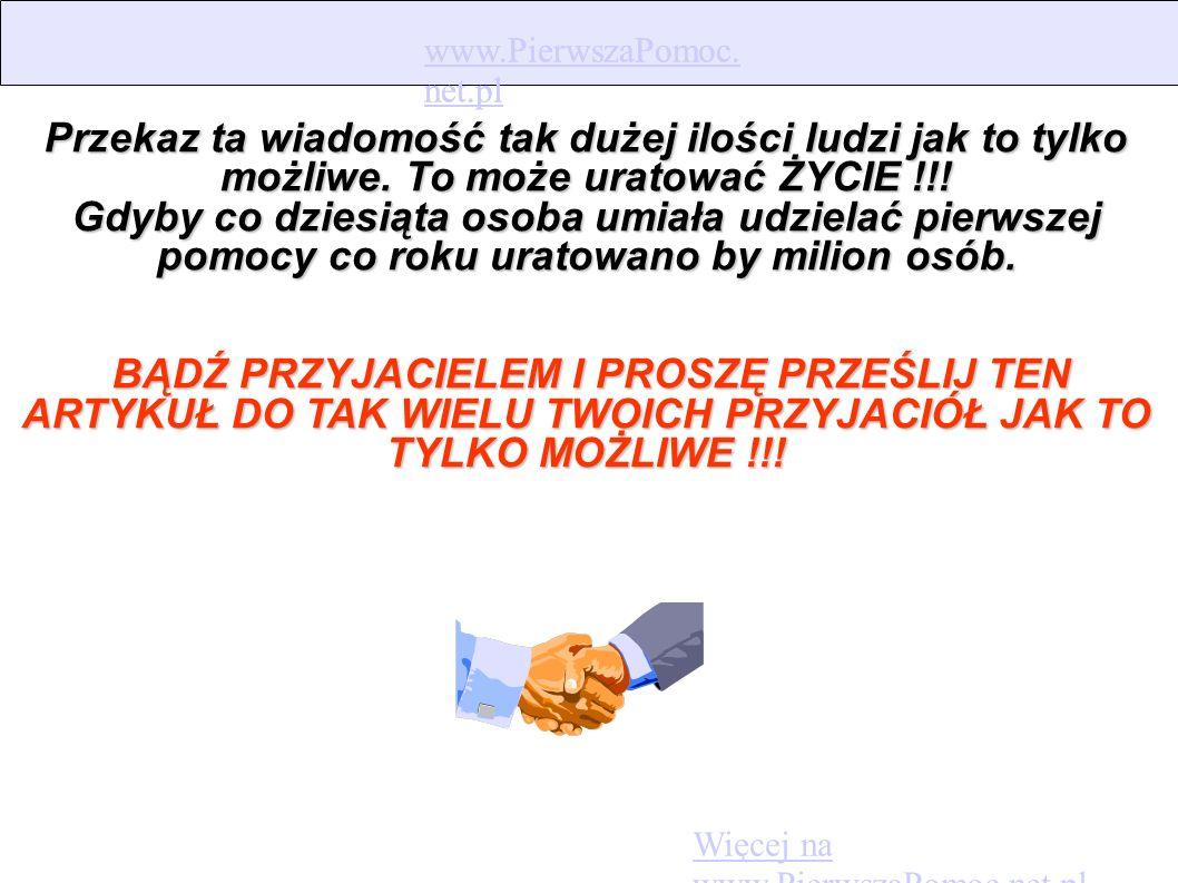 www.PierwszaPomoc. net.pl www.PierwszaPomoc.